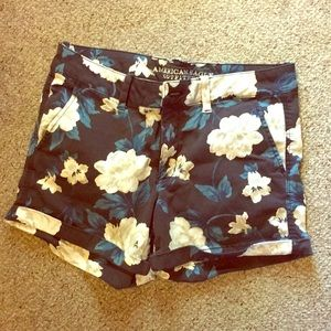 American Eagle Floral Shorts